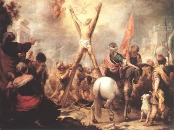 The Crucifixion of Saint Andrew the Apostle