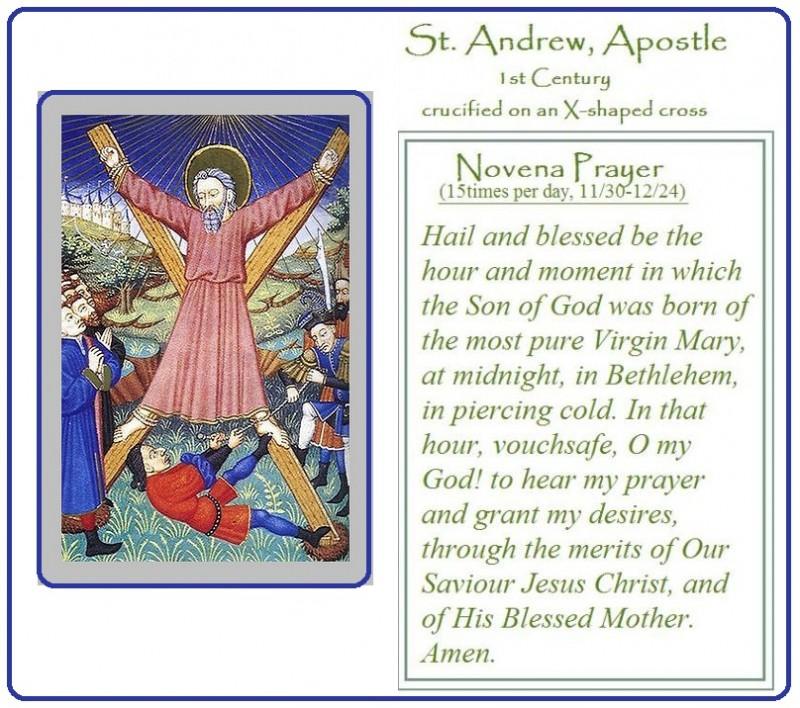 St. Andrew's Christmas Novena | The Catholic Pilgrim